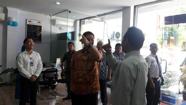 Wagub Kandouw Sidak Bank SulutGo Cabang Malang