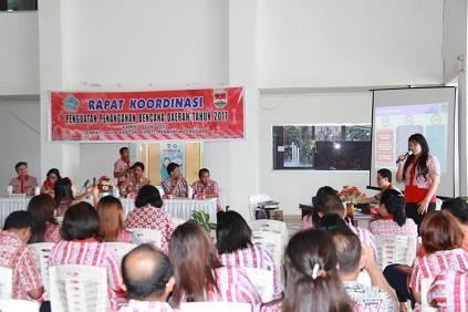 Pemkab Mitra Dan Biro Kesra Provinsi Sulut Gelar Rakor Sosialisasi Penanganan Bencana
