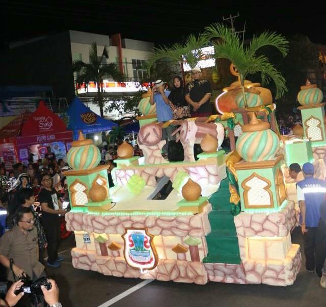 Malam Takbiran di Manado Diikuti Ratusan Peserta, Dilepas Gubernur OD, Dijemput Walikota GSVL