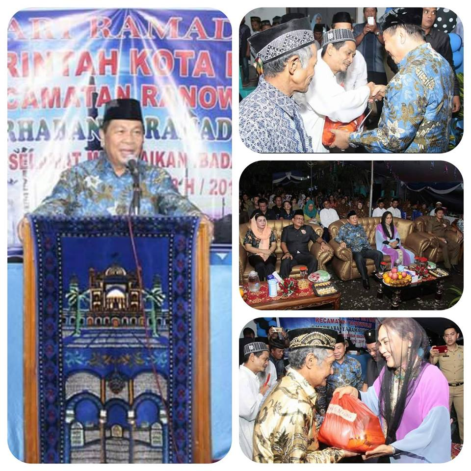 Pemkot Bitung Gelar Safari Ramadhan di Kecamatan Ranowulu