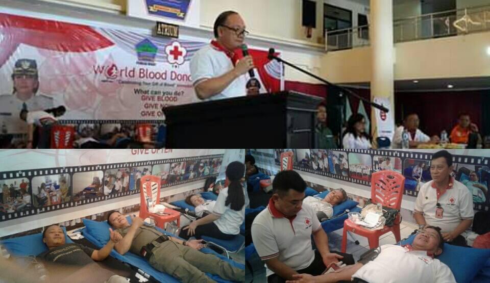 Pemkab Dan PMI Minut Sukses Gelar World Blood Donor Day