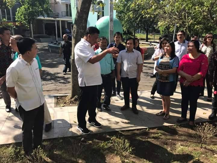 Tatap Muka Dengan Mahasiswa Sulut di Malang, Gubernur Olly Tinjau Langsung Asrama Formas