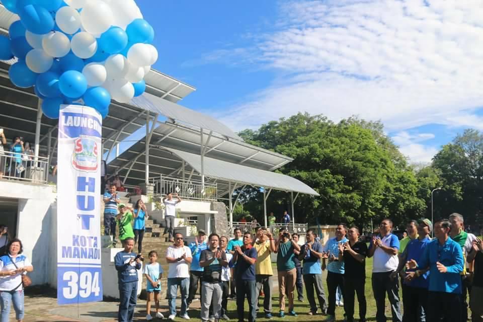 Jalan Sehat dan Senam Tandai Launching HUT Kota Manado ke – 394