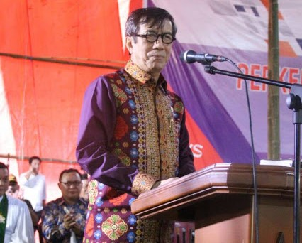 Perkemahan Kreatif Remaja Nasional PGI dan Sinode GMIM Dibuka Menteri Hukum dan HAM
