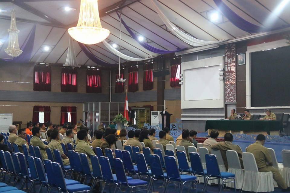 HUT Kota Manado ke 394, Mor Tegaskan Seluruh Perangkat Daerah Terlibat