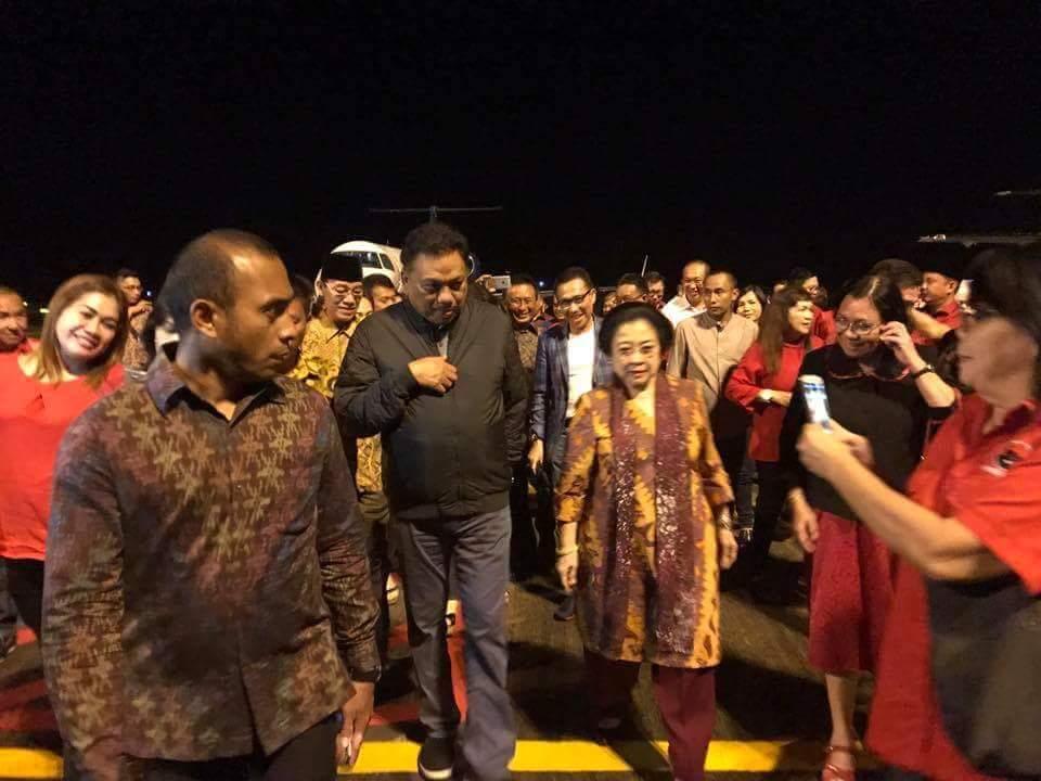 Tiba di Sulut Tadi Malam, Hari Ini Megawati Akan Buka Parade Pancasila