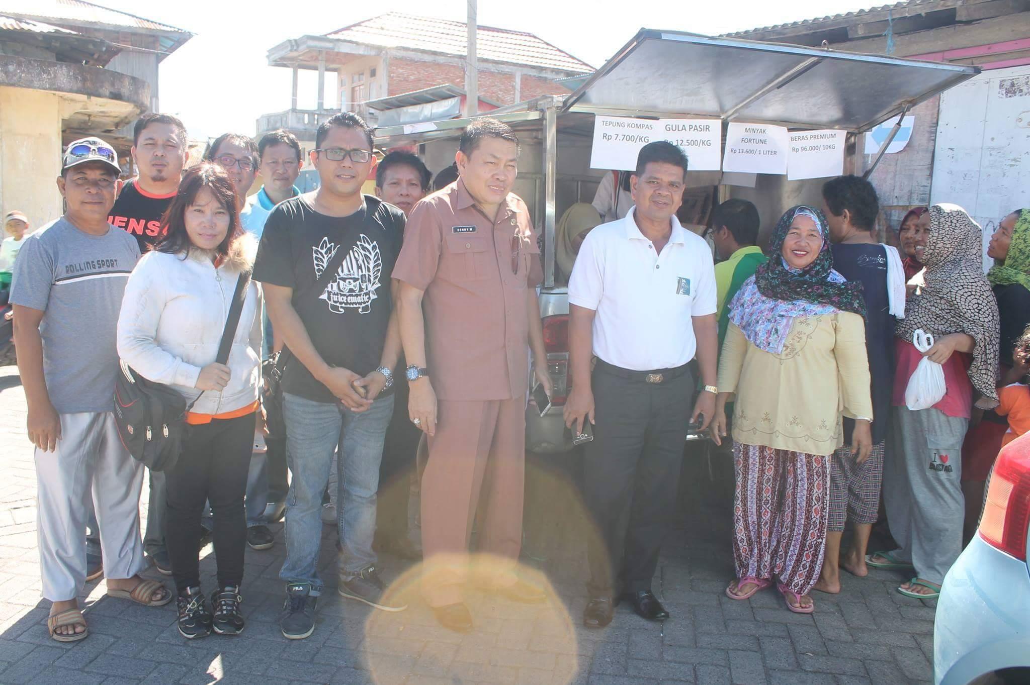 Astaga…! Beras Bulog 'Bakutu' Di Pasar Murah Kema III Minut
