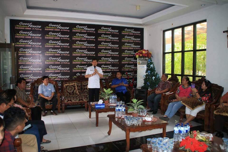 Temui Mahasiswa Sulut di Malang, GSVL Ajak Sumbangsi Pemikiran Untuk Manado