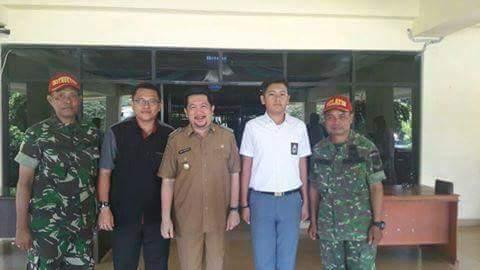 Utusan Sulut di Paskibraka Nasional, Wawali Mor Support Joy Lumentut