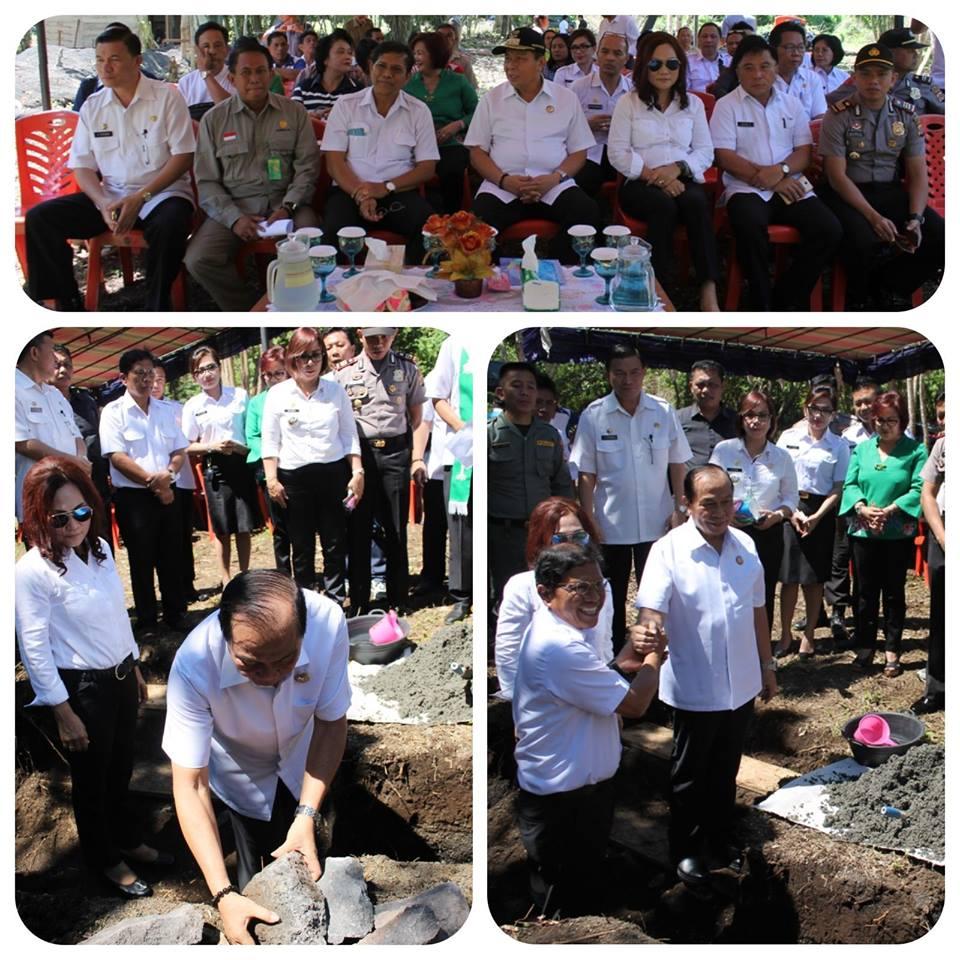 Walikota Bitung Letakan Batu Pertama Camping Ground