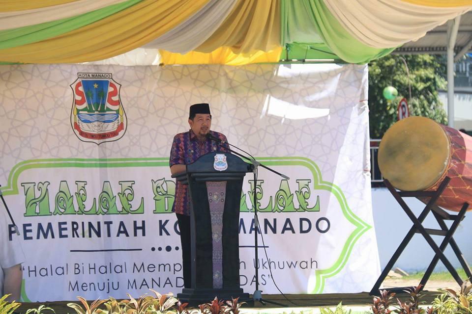 Halal Bihalal, Wawali MOR : Kota Manado Rumah Bersama