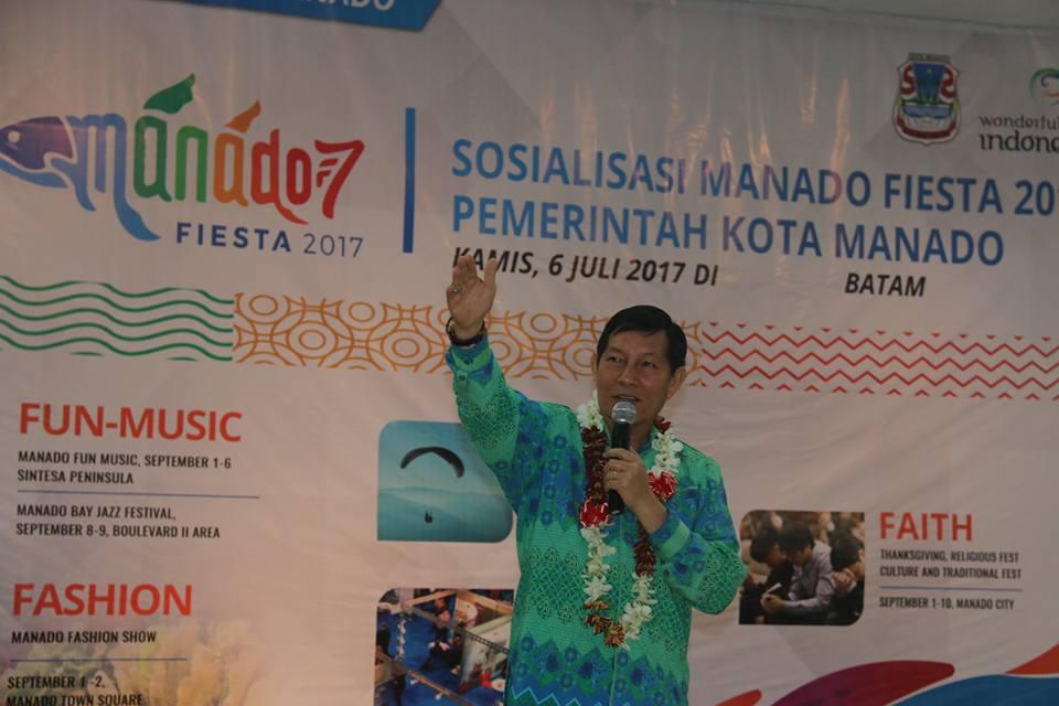 Meriahkan Manado Fiesta, GSVL Ajak Warga Kawanua di Batam