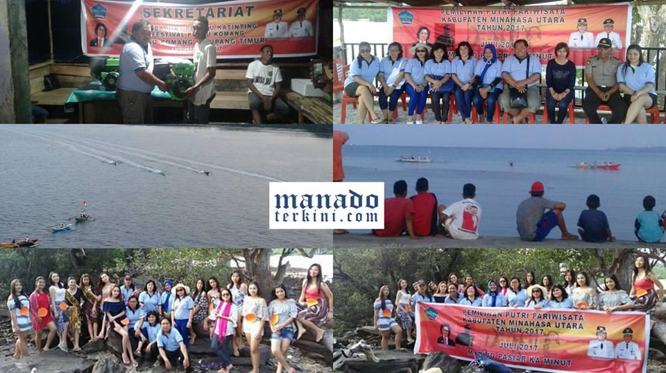 Festival Pulau Komang Promosi Obyek Wisata Minut