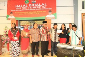 Mitra, James Sumendap, Halal Bihalal