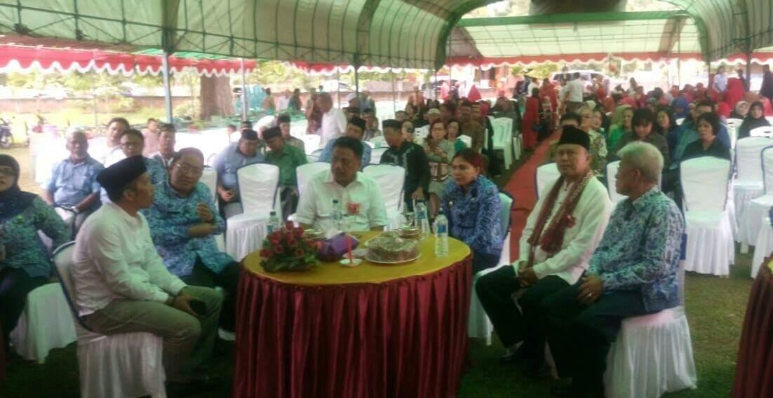 Gubernur Olly Dan Bupati VAP Hadiri Halal Bi Halal Di Kauditan