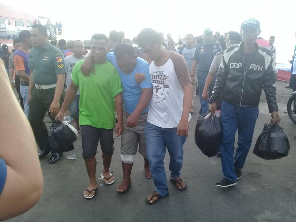 11 ABK Tiba di Pelabuhan Manado