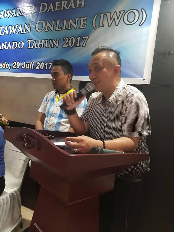 Rarung : Musda IWO Manado Sudah Sesuai Tata Tertib