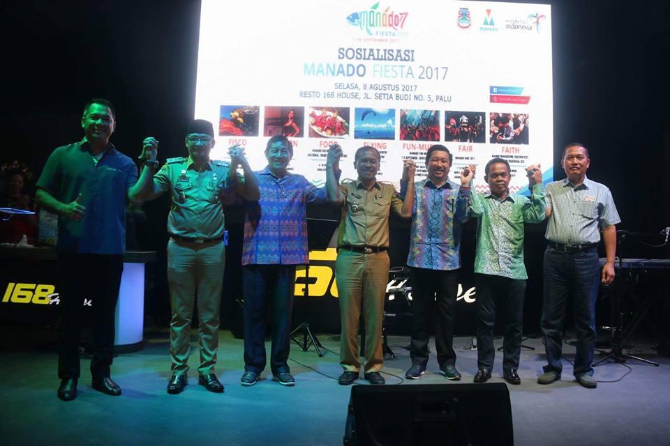 Manado Fiesta 2017 Mengema di Palu