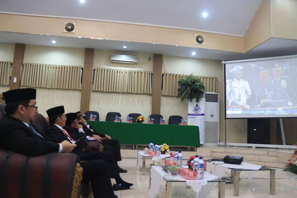 GSVL-MOR Ikuti Paripurna Pidato Presiden Jokowi di DPRD Manado