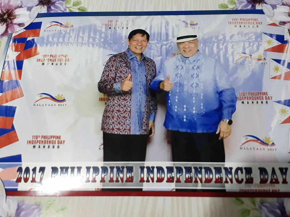 Walikota Hadiri HUT ke- 119 Kemerdekaan Philipine di GKIC Manado