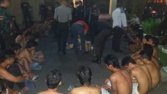 Asik pestas miras, 43 Pemuda Diamankan Tim Paniki Polresta Manado