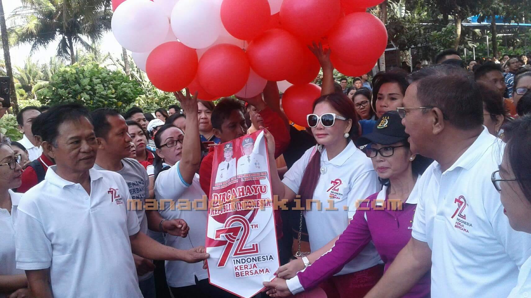 Bupati VAP Dan Wabup Lengkong Resmi Buka Rangkaian Kegiatan HUT RI Ke-72