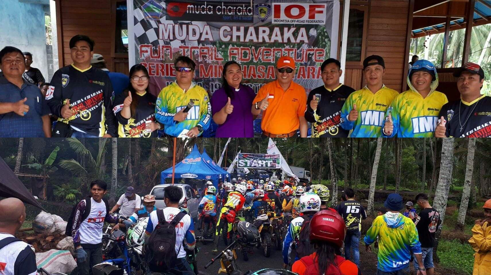 Meydi Kumaseh Suport Muda Charaka Trail Adventure Series 1