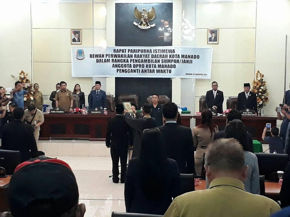 Walikota GSVL Berharap Taha Pererat Kemitraan Dengan Pemkot Manado
