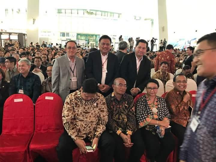 OD-SK Hadir Bersama Presiden Jokowi Forum Bisnis Internasional ISBC-ISIF di Singapura