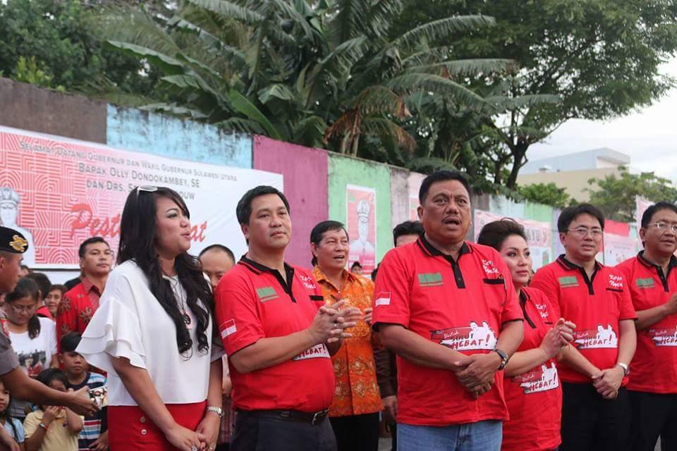 Pesta Rakyat HUT Provinsi, GSVL Sebut Hadiah Manado Cerdas Untuk Sulut Hebat