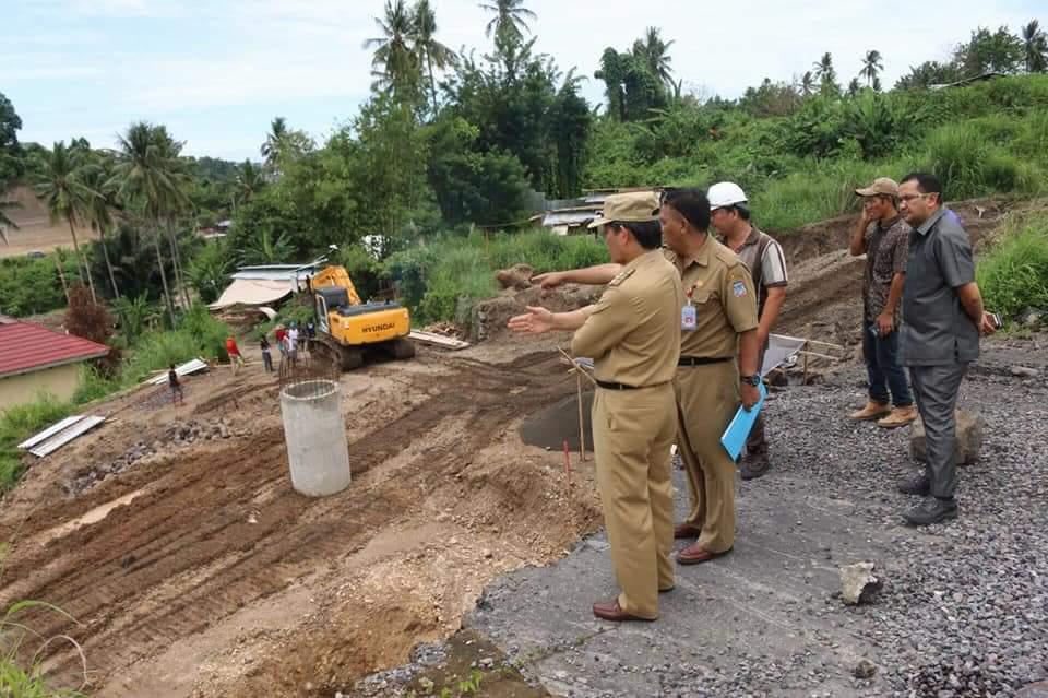 Pantau Pembangunan RSUD Manado,GSVL Ingatkan Kualitas Pekerjaan