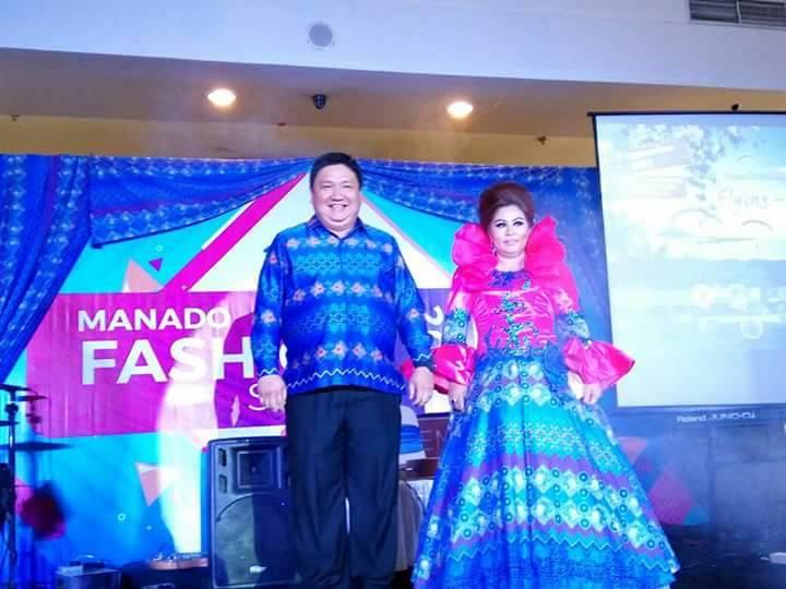 Fashion Show, Pejabat Pemkot Manado Jadi Model Dadakan