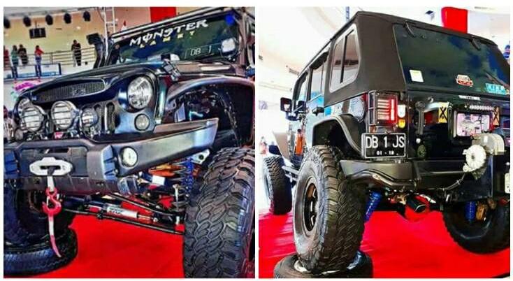 """Ramaikan MAC 2017, JS Racing Team Turunkan """"Monster Lamet"""""""