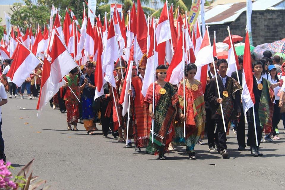 Dari Manado Untuk Indonesia, GSVL : NKRI Harga Mati, Pancasila dan UUD 1945 Tidak Bisa Ditawar Lagi