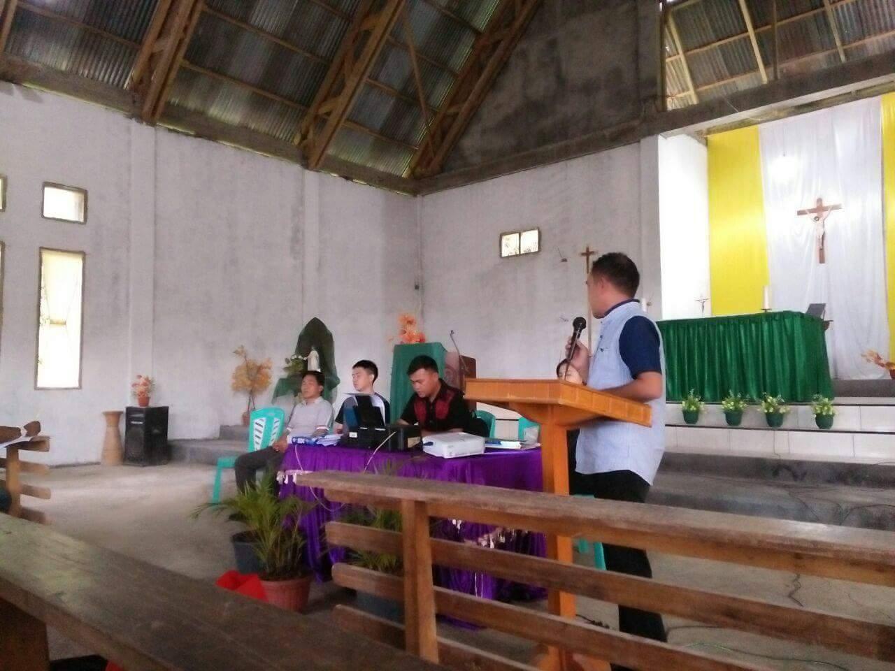 Digelar di Raanan Lama, Pemuda Katolik Gelar Konsolidasi Penyusunan PK Komcab se Minsel