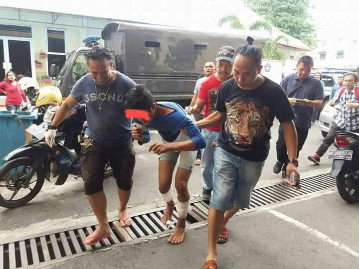 Pelaku Pembunuhan Paal 2 Diringkus Macan Polres Manado
