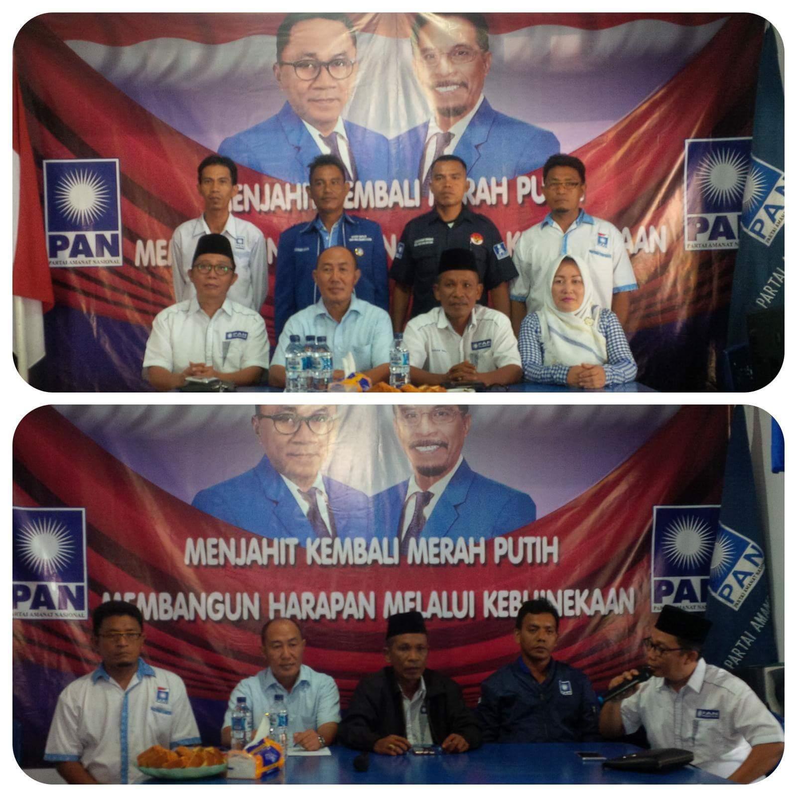 Targetkan 6 Kursi di DPRD Bitung, DPD PAN Lauching Pencalegkan Dini