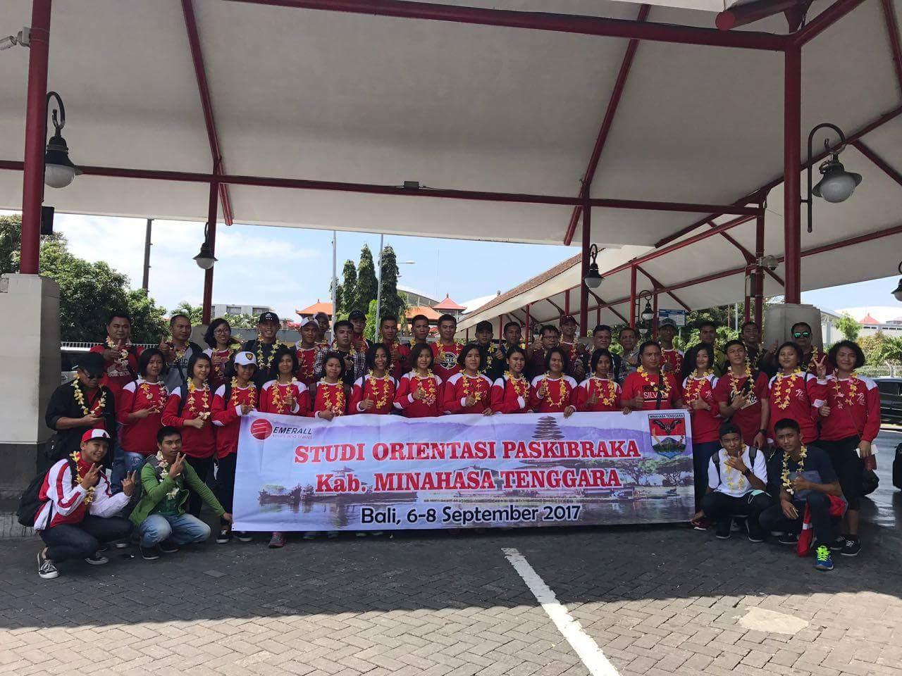 Jalankan Tugas Negara,Paskibraka Mitra Dapat Bonus Studi Tour ke Bali