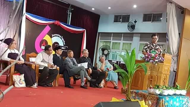 STEVEN KANDOUW dan HWB SUMAKUL Terima Mandat Sulut Tuan Rumah Konferensi Gereja Asia 2018