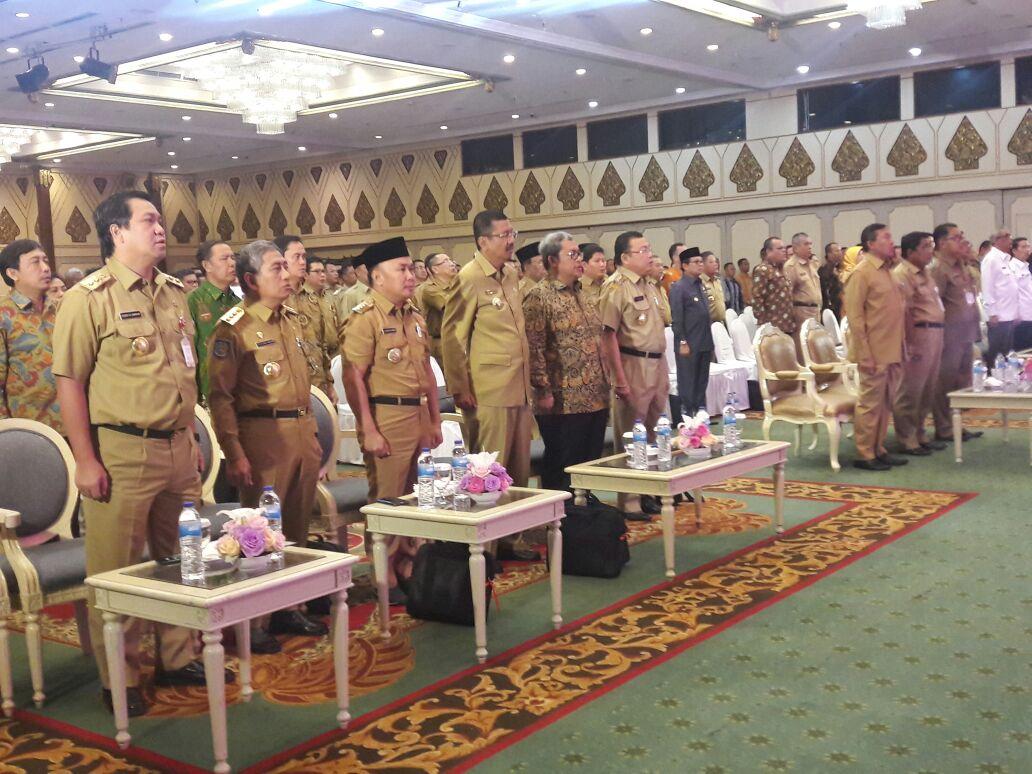 Wagub Kandouw Hadiri Rakor Pilkada Serentak 2018 di Jakarta