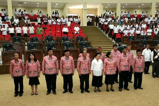 Lantik Presidium BKSAUA Sulut, Olly Harap Segera Berkerja