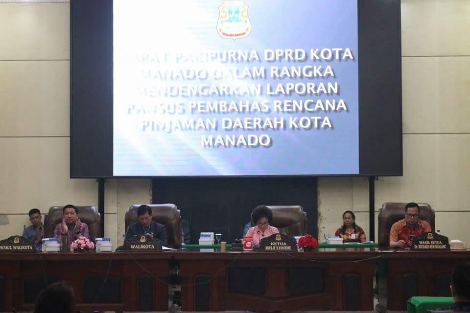 DPRD Manado SetujuI Pinjaman Pemkot Kepada PT SMI