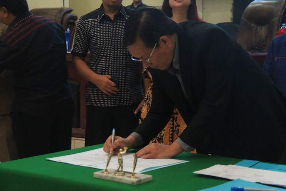Sah, APBD Manado 2018 Disetujui DPRD