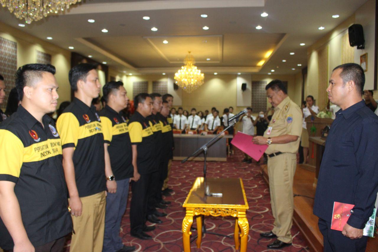 Dilantik Gubernur OD, Clay Resmi Nahkodai PDBI Sulut