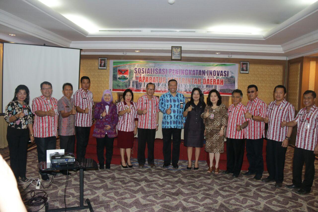 Tingkatkan Pelayanan Publik, Pemkab Mitra Galar Sosialisasi Inovasi