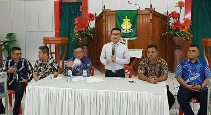 Panitia Pemilihan Calon Komisi PKB Sinode GMIM 2018 Dilantik Di Minut