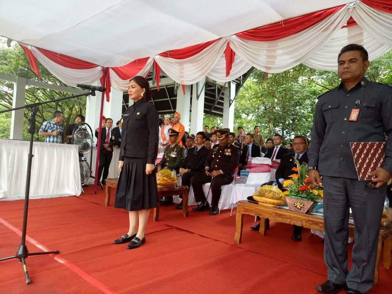 Bupati VAP Irup Peringatan HUT Ke-14 Kabupaten Minut