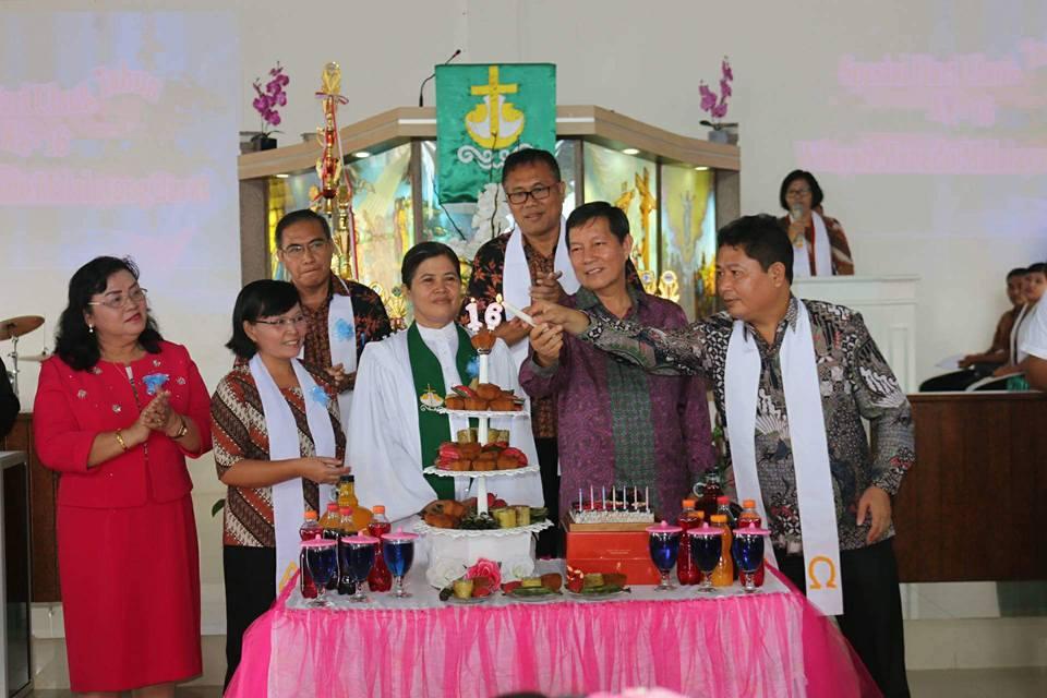 Walikota Manado Hadiri Ulang Tahun ke-16 Wilayah Malabar