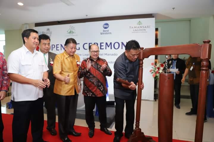 Gubernur Olly Resmikan Best Western Hotel Manado dan Tamansari Lagoon Apartemen Condotel