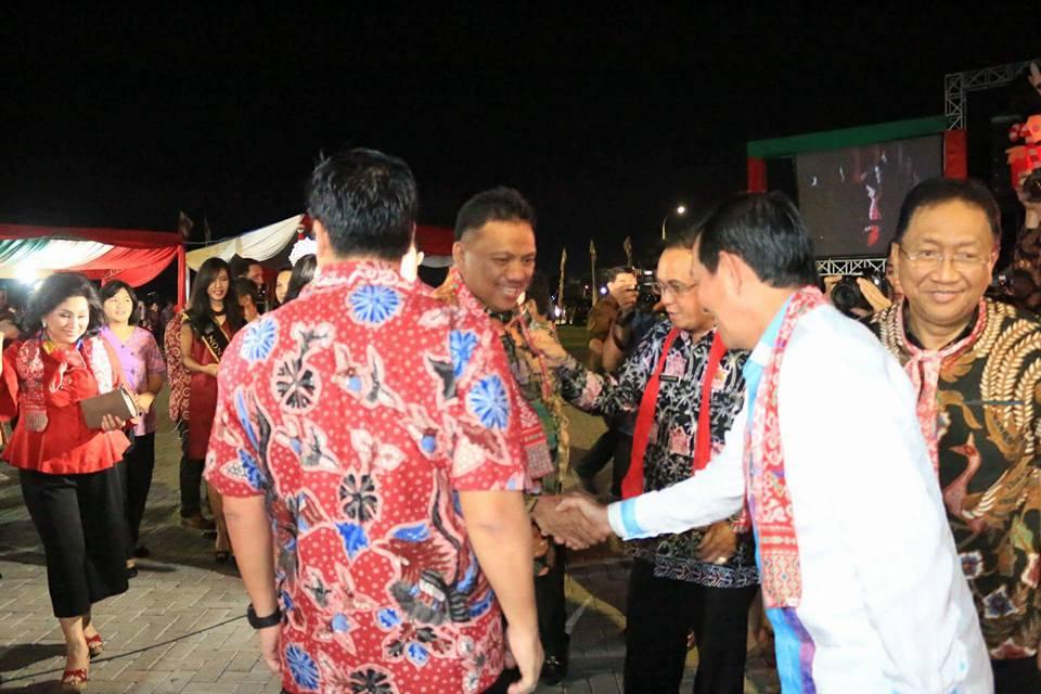 Festival Natal 2017, Walikota Manado Nyatakan Dukungan Penuh Demi Kemajuan Pariwisata Sulut